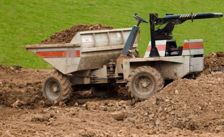 small one seater dumper truck